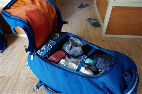 travel backpack gear  backpacking  blighty