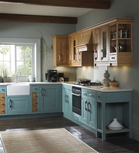 duck egg kitchen cabinets duck egg blue wooden kitchen units search for 6984