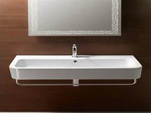 Shallow bathroom vanities small bathroom sinks undermount for Small bathroom sinks