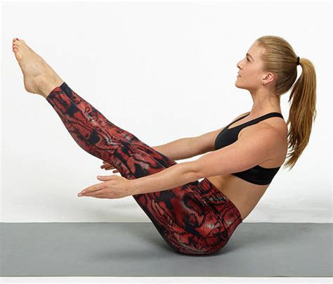 Boat Pose Weak Hip Flexors by Yoga Poses For Abs Ab Exercises Fitness Magazine