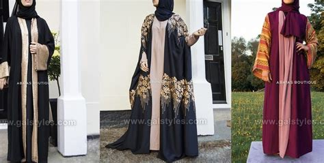 latest designer abaya gowns hijab designs   collection