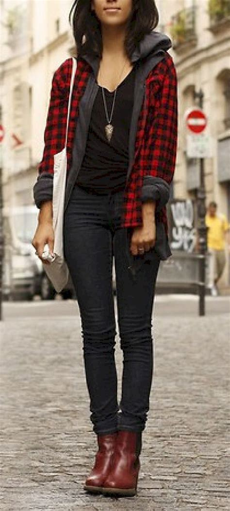 Best 25+ Flannel shirts for women ideas on Pinterest | Red flannel shirt Plaid shirts and ...