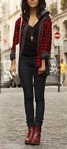 Best 25+ Flannel shirts for women ideas on Pinterest   Red flannel shirt Plaid shirts and ...