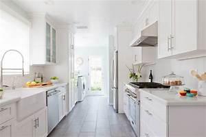 Small White Galley Kitchen Ideas — DESJAR Interior ...
