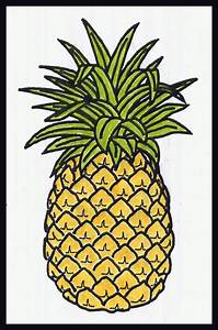 how to draw a pineapple | British-Israel.us - Lesson 34 ...