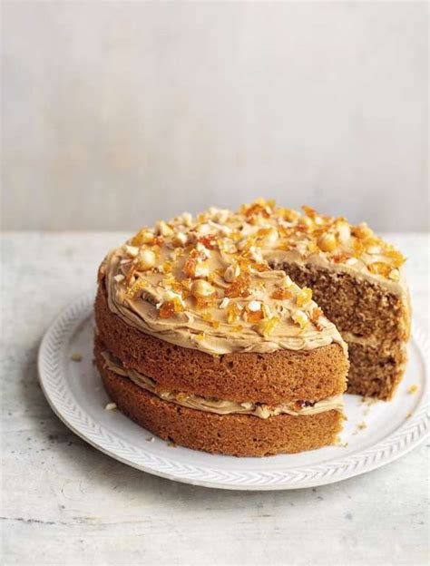 20 minutes, plus cooling time | cooking time: Mary Berry Coffee Hazelnut Praline Cake Recipe | BBC2 Simple Comforts