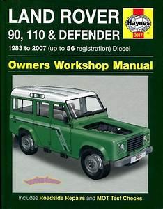 Land Rover Shop Manual Service Repair Book Defender 90 110