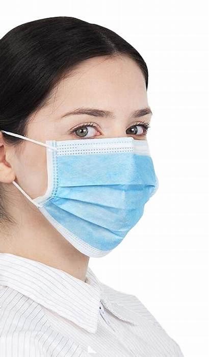 Mask Transparent Medical Surgical Maseczka Higieniczna 20szt