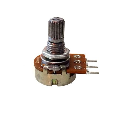 2 99 b500k linear 500k ohm taper potentiometer