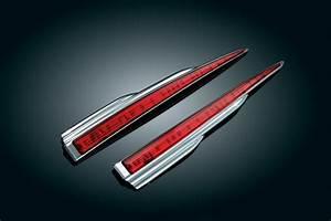 Kuryakyn chrome rear led light bar harley davidson