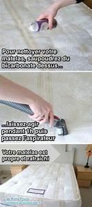 Enlever Tache Matelas Bicarbonate : 40 astuces pour que votre maison soit plus propre que jamais favoris ~ Melissatoandfro.com Idées de Décoration