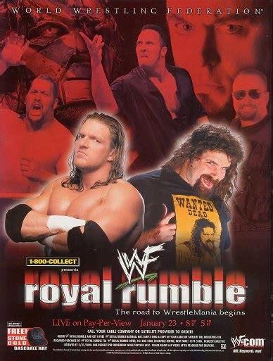 history  wwe royal rumble  enuffacom