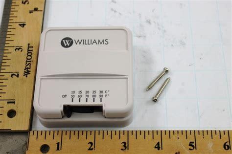Williams Furnace P Thermostat