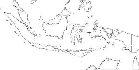 gambar peta indonesia hitam putih aneka gambar kualitas hd