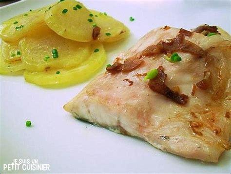 cuisine bar poisson bar au four façon orio à la vinaigrette d 39 ail poisson