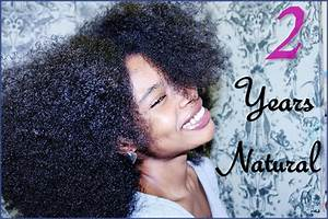 Natural Hair Journey 2 Years YouTube