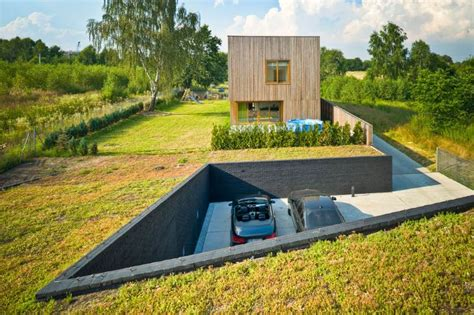 eco green roof modern green roofed homes blend into poland s countryside inhabitat green design innovation