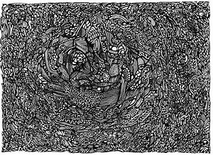 abstract gel pen 31 by aklikins on DeviantArt