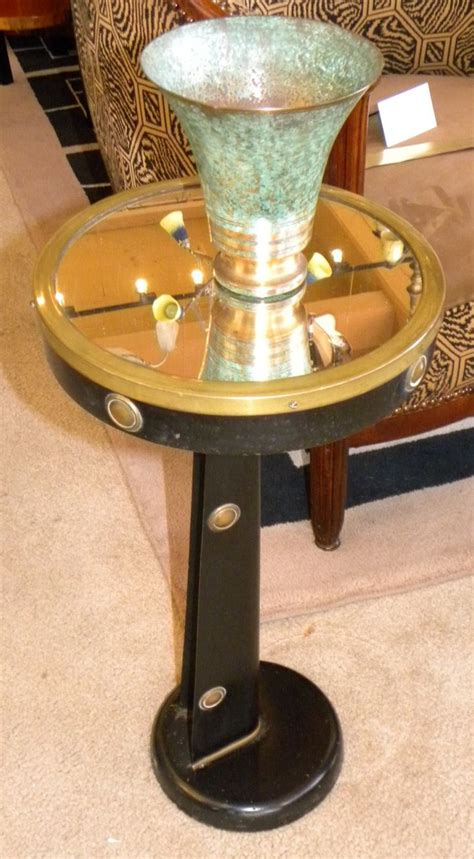 small nautical table ls unusual nautical metal streamline side table sold items
