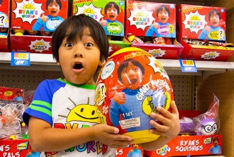 Ryan Toysreview Now Has His Own Mystery Egg Toy Line