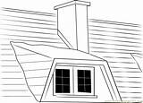Chimney Coloring Household Pages Coloringpages101 sketch template