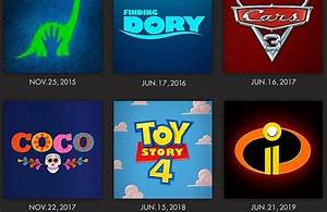 Pixar anunció las películas que estrenará hasta 2019