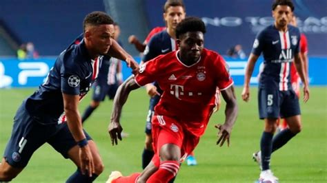 Canada's Alphonso Davies makes L'Equipe's world team of ...