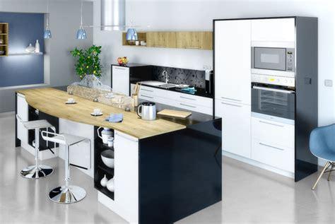 alléger un ilot central dans votre cuisine grâce à l