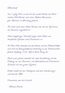 handschriftlicher lebenslauf muster kostenlose anwendung With muster handgeschriebener lebenslauf