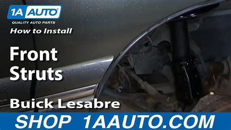 install replace worn  front struts   buick