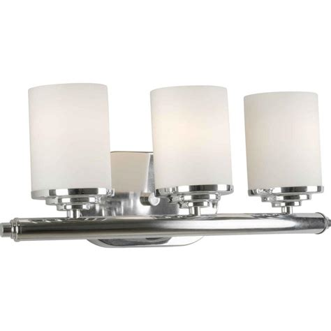 home depot bathroom vanity lights chrome talista oralee 3 light chrome bath vanity light cli