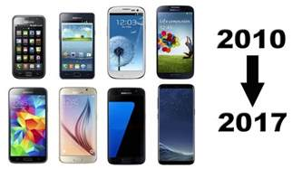 galaxy phones for history of samsung galaxy s phones 2010 2017
