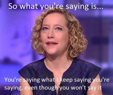 Cathy Newman Memes - jordan peterson cathy newman meme