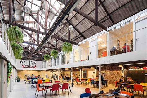 floor and decor warehouse sinergia cowork palermo adaptive reuse at its industrial best