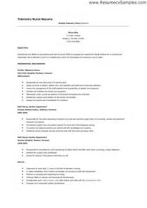 telemetry rn resume resume template 2017