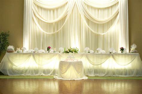 Voile Chiffon Sheer Wedding Curtain 10ft Drape Panel Backdrop 120