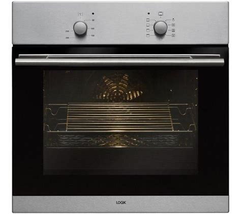 logik lbfanx electric oven stainless steel safeer
