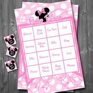 Baby Shower Bingo Free Gallery