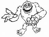 Abominable Snowman Coloring Yeti Pages Drawing Deviantart Monster Snow Printable Drawings Rudolph Getdrawings Getcoloringpages Results sketch template
