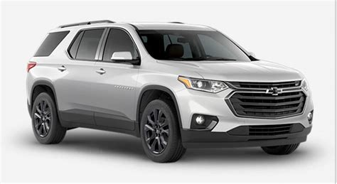 chevrolet traverse specs pricing  features