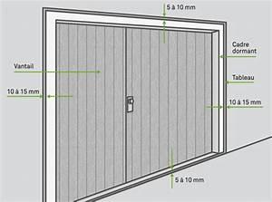 Hauteur Porte De Garage : poser une porte de garage battante leroy merlin ~ Melissatoandfro.com Idées de Décoration