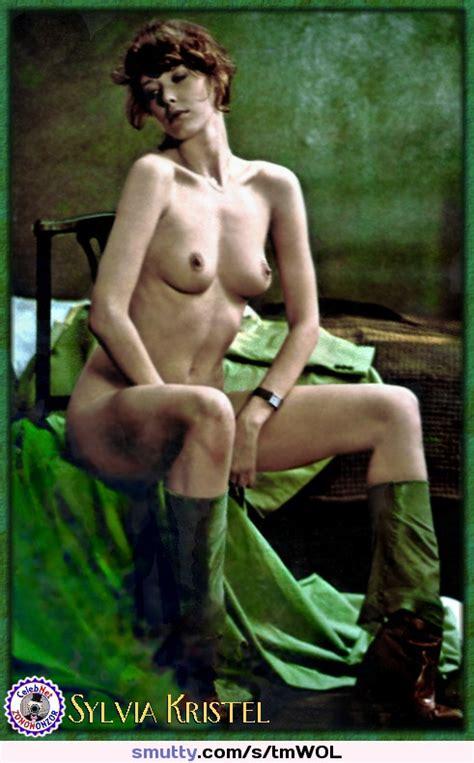 Actress Sylvia Kristel Posing Nude Celebrity Dutch