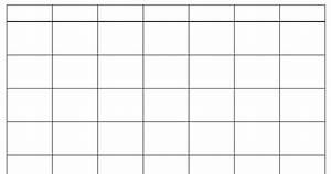 Calendar Grid 10 Blank Calendar Grid Collection 2015 To Print 2016