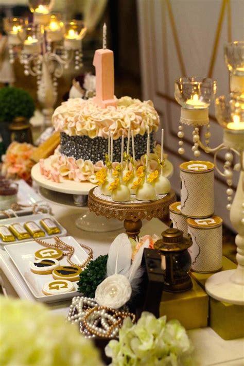 Kara's Party Ideas Great Gatsby 1920's Themed 1st Birthday