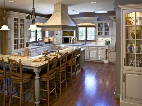 shaped kitchen with island kitchen island with breakfast bar design ideas L