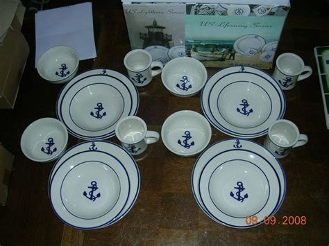 nautical dishes ideas   pinterest dining