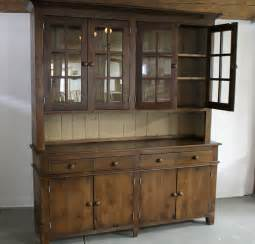 hutch kitchen furniture large reclaimed wood hutch traditional china cabinets and hutches boston by
