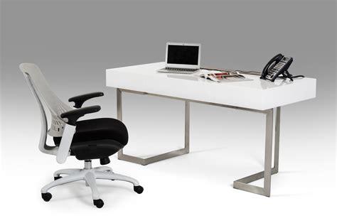 Modrest Sharp Modern White Office Desk