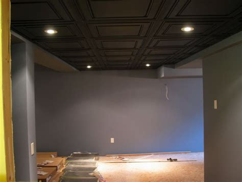 Paint Sprayer For Basement Ceiling by Unfinished Basement Ceiling Ideas Home Design Ideas
