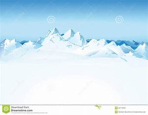 Snowy Mountains Clipart | Wallpapers Gallery